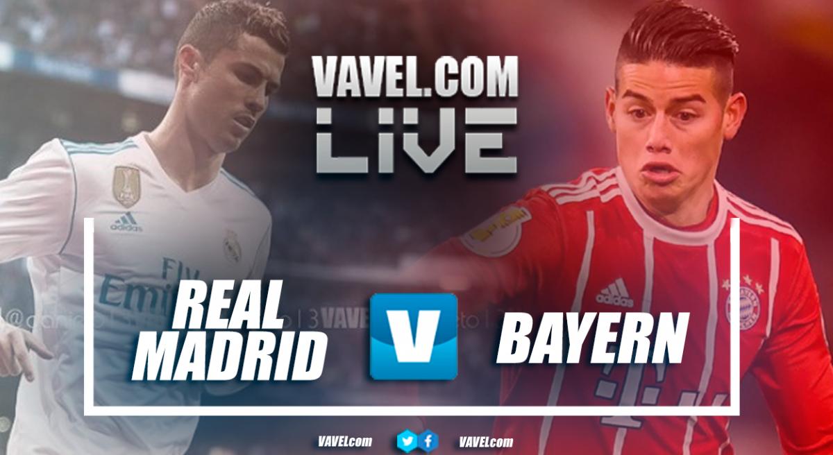 Resultado e gols de Real Madrid X Bayern de Munique pela semifinal da Liga dos Campeões (2-2)
