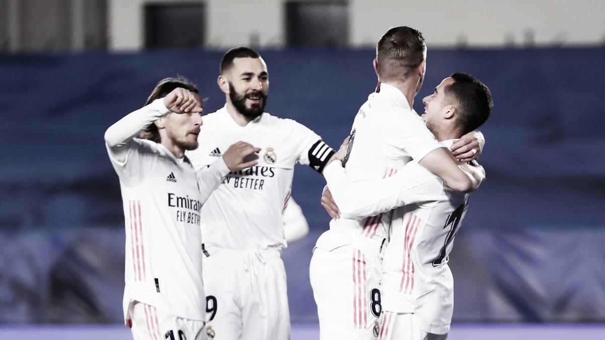 Real Madrid - Celta de Vigo: puntuaciones del Real Madrid, 17ª jornada de LaLiga Santander