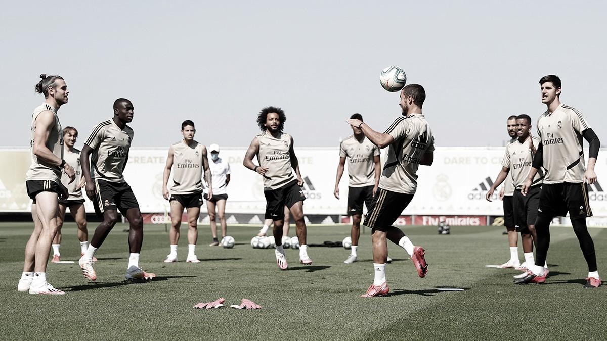 El Real Madrid se prepara para recibir al Mallorca