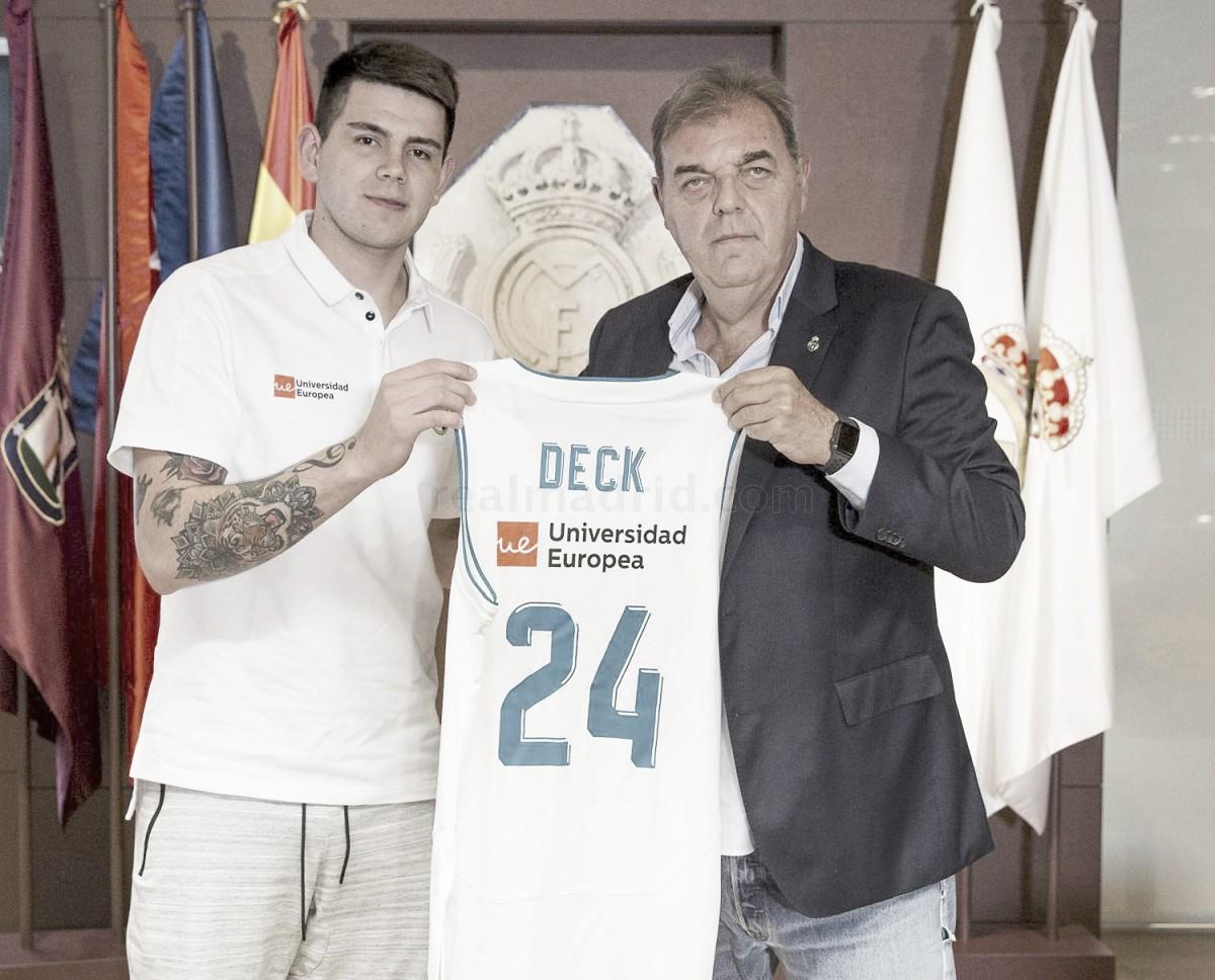 """Gabriel Deck: """"El Madrid siempre tiene en mente ganar"""""""