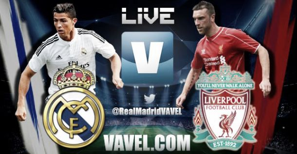 Diretta Real Madrid - Liverpool, risultato live della partita di Champions League