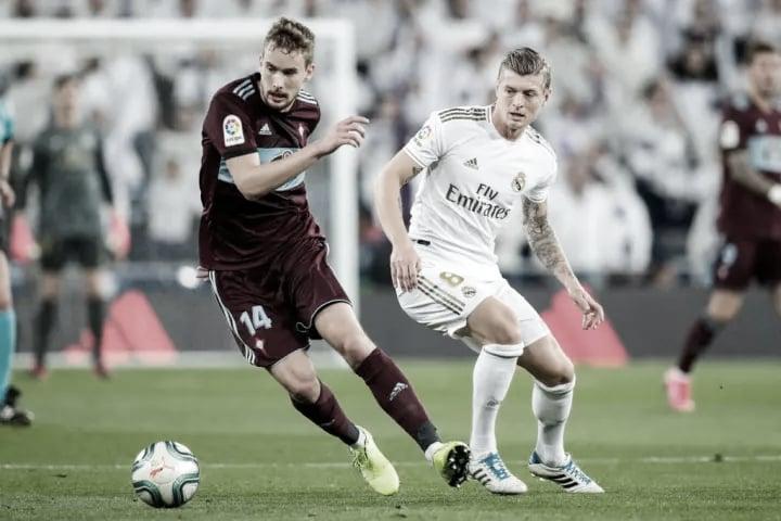 Real Madrid vs Celta de Vigo: Horario y donde ver el partido