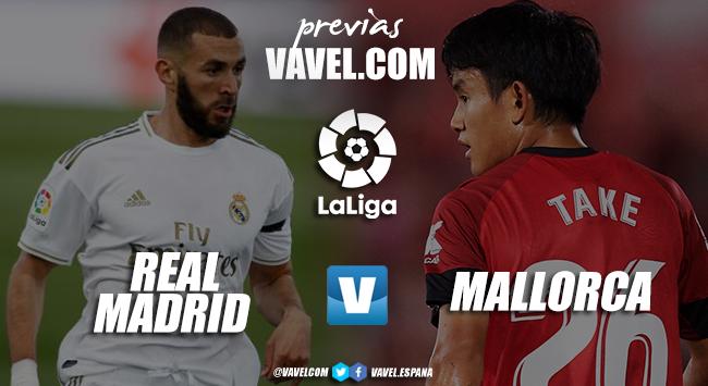 Previa Real Madrid vs Mallorca: mantener el liderato como único objetivo