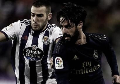 Sem convencer, Real Madrid supera Valladolid fora de casa e assume liderança do Espanhol