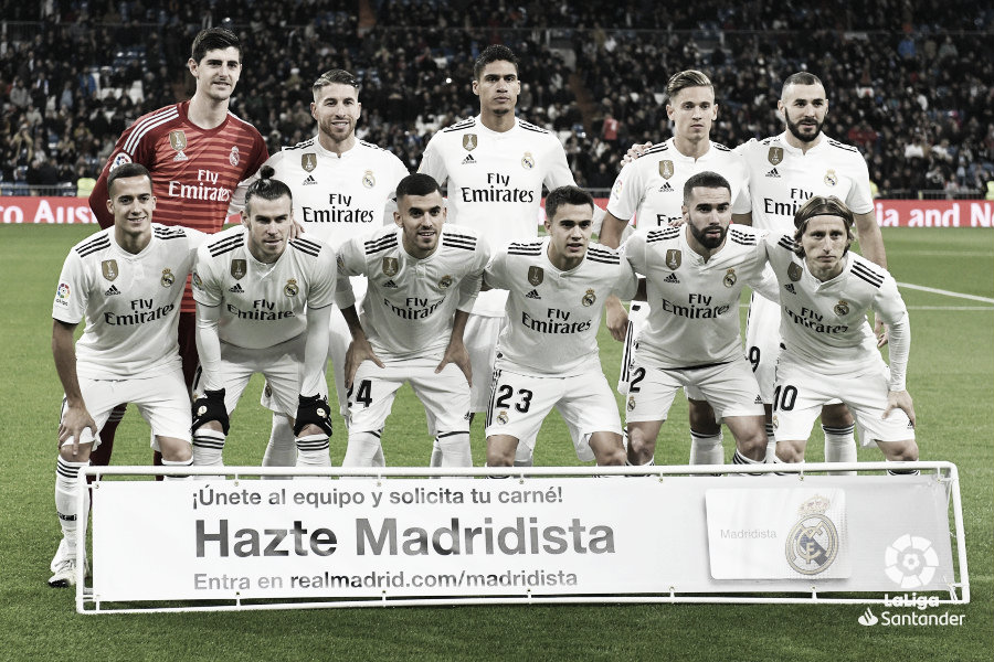 Real Madrid-Valencia: puntuaciones del Real Madrid, Liga Santander 18/19