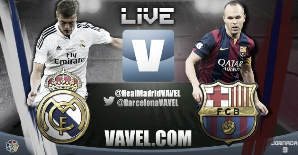 Live El Clasico : le match Real Madrid vs Barcelone en direct
