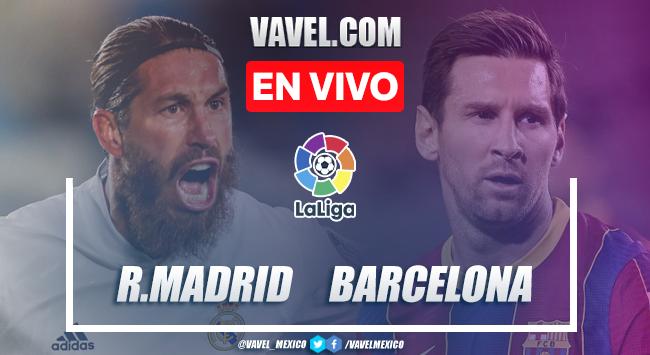 Goles y resumen del Real Madrid 2-1 Barcelona en El Clásico LaLiga 2021