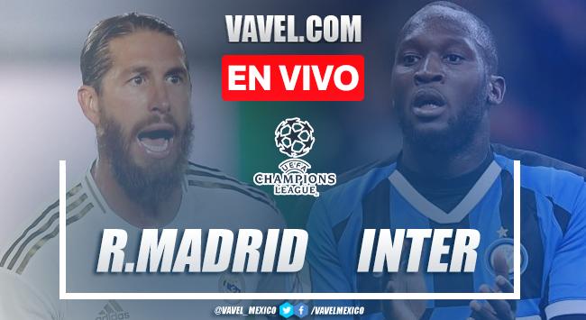 Goles y Resumen del Real Madrid 3-2 Inter de Milán en la jornada 3 de la UCL 2020
