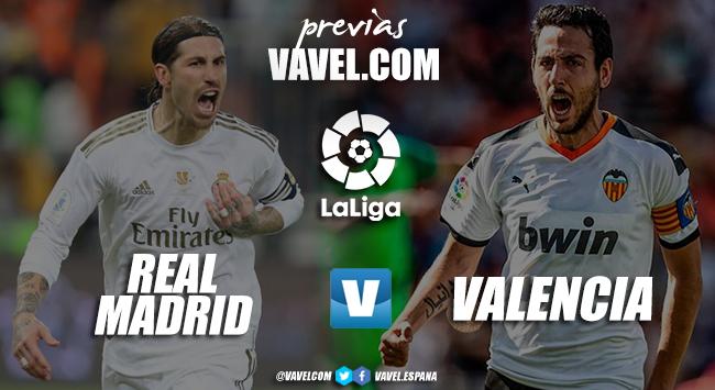 Previa Real Madrid – Valencia: tres puntos vitales