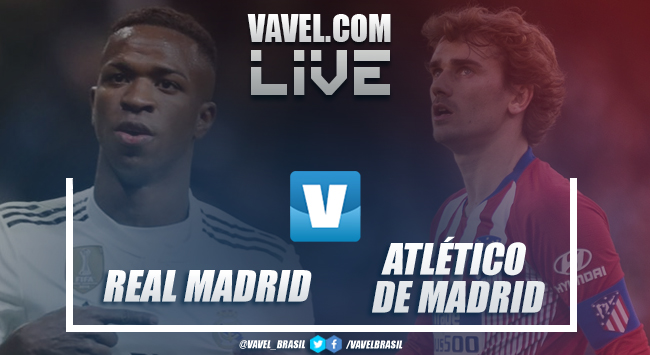 Resultado e gols Atlético de Madrid x Real Madrid pela La Liga 2019 (1-3)