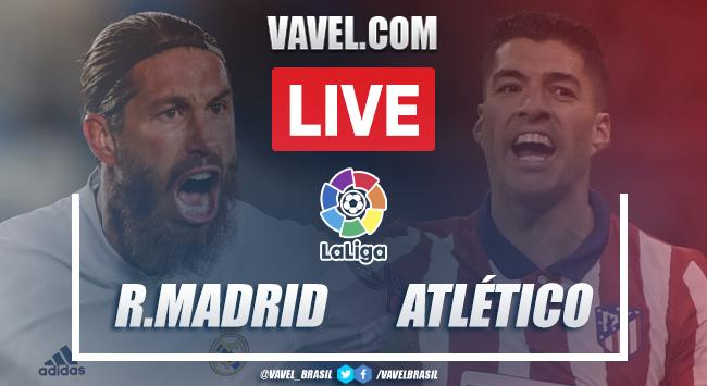 Gols e melhores momentos Real Madrid 2x0 Atlético de Madrid pela LaLiga