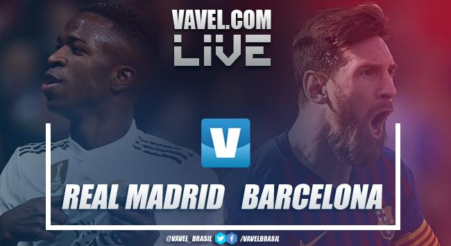 Resultado e gols Real Madrid 0x1 Barcelona pelo Clássico Campeonato Espanhol 2019