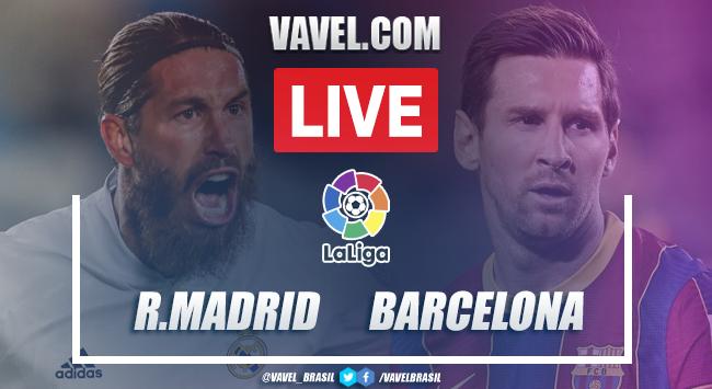 Gols e melhores momentos para Real Madrid 2 x 1 Barcelona por La Liga