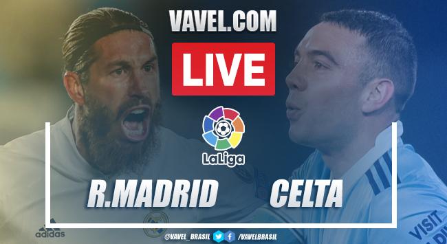 Gols e melhores momentos para Real Madrid 2x0 Celta em La Liga