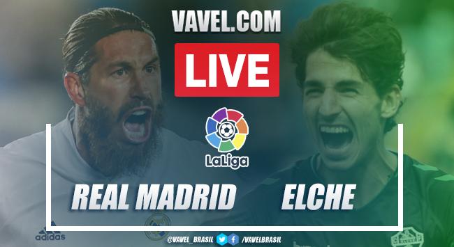 Gols e melhores momentos Real Madrid 2x1 Elche pela LaLiga