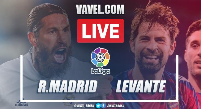 Gols e melhores momentos Real Madrid 1x2 Levante pela LaLiga