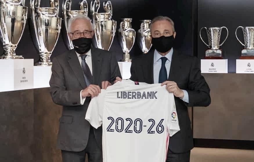 Liberbank, patrocinador del Real Madrid hasta 2026