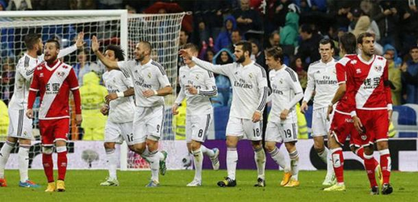 Real Madrid volta a golear
