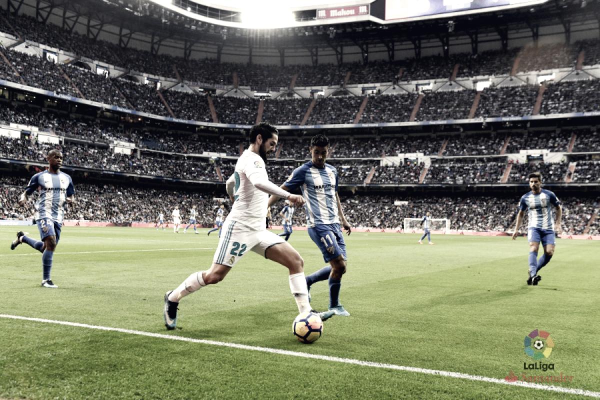 Previa Málaga CF- Real Madrid CF: duelo intrascendente
