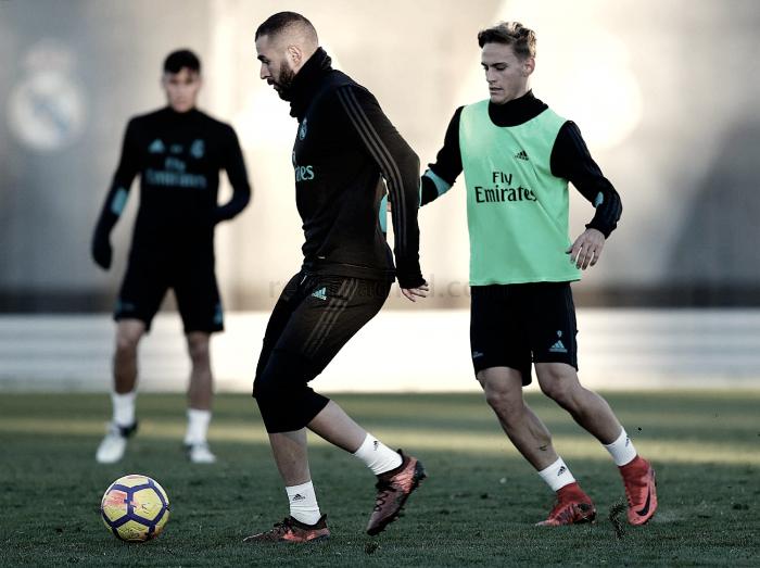 El Real Madrid vuelve al trabajo con la vista en el derbi