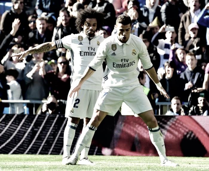Real Madrid alcança 39 jogos invicto: blancos esmagam Granada com tento CR7 (5-0)