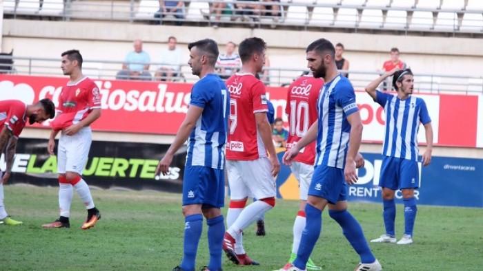 Ecija Balompié - Real Murcia CF: Los Reyes Magos traen tres puntos en San Pablo