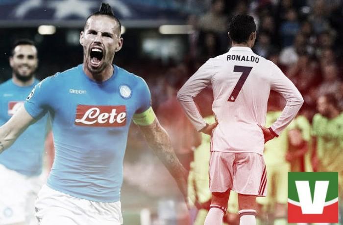 Verso Real Madrid - Napoli: il cammino di blancos e azzurri nella fase a gironi