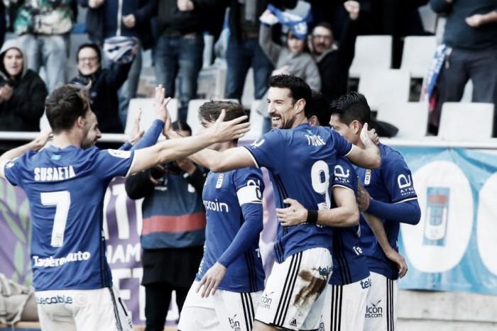 Reconciliación entre equipo y afición, pese al juego gris del Real Oviedo