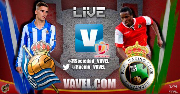Resultado Real Sociedad - Racing de Santander (3-1)