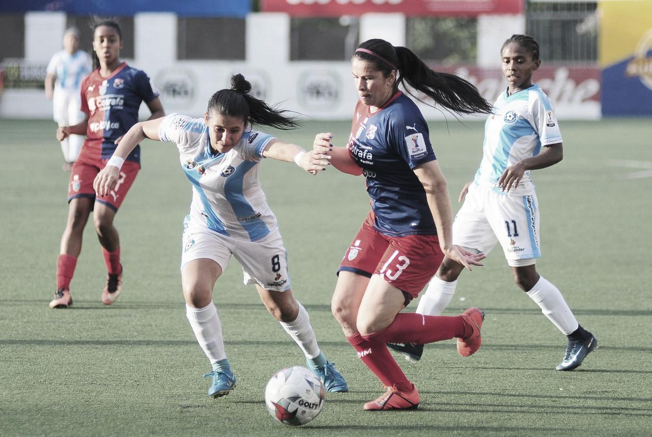 Independiente Medellín terminó invicto en la fase de grupos de la Liga Femenina