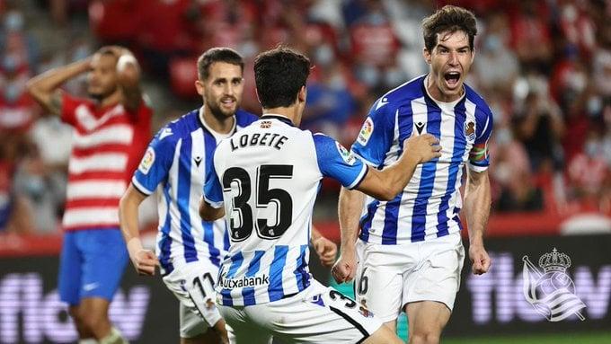 La Real remonta a un érratico Granada CF