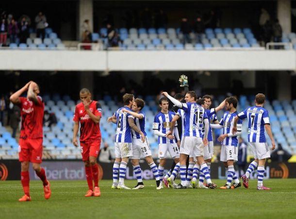 Real Sociedad 4-3 Sevilla: Prieto steals victory for La Real