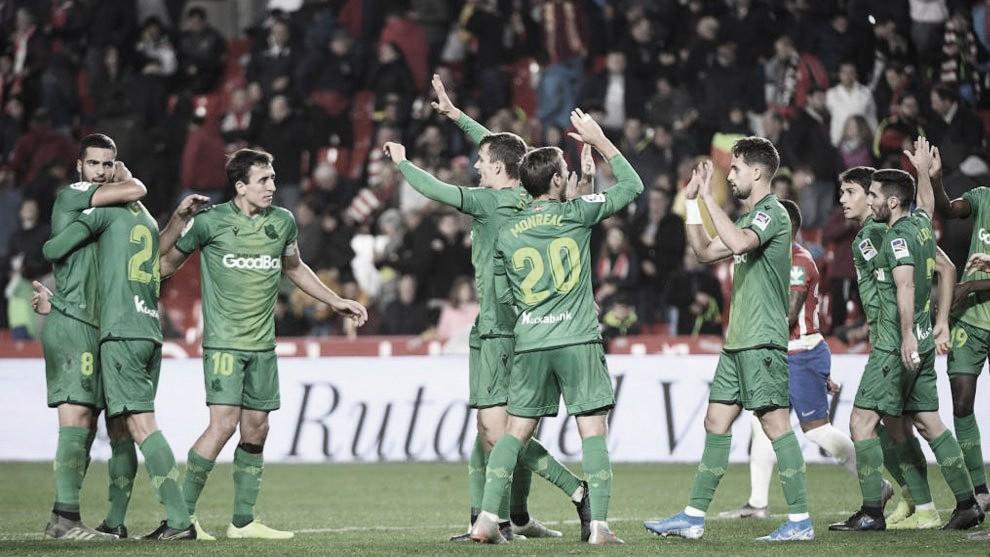 Resumen Granada CF vs Real Sociedad en LaLiga Santander (1-0)