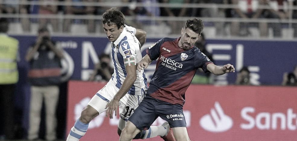 Precedentes ligueros de la Real Sociedad ante SD Huesca