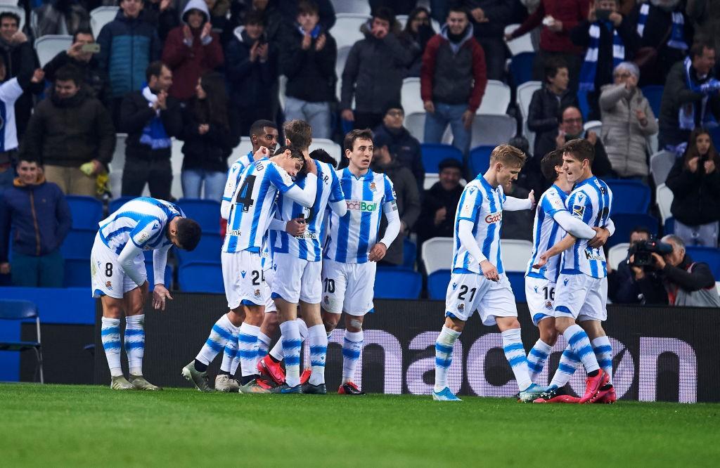 La Real Sociedad no falla y pasa de ronda ante el Espanyol (2-0)