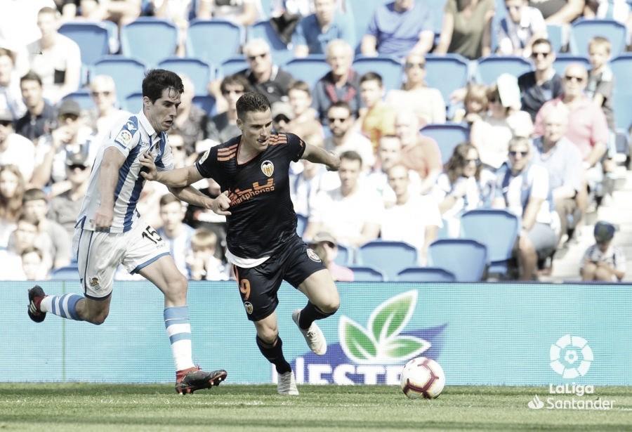 Real Sociedad vs Valencia en vivo y en directo en LaLiga Santander 2020/2021