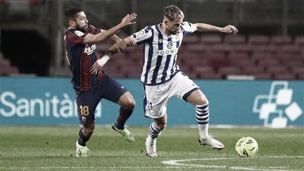 Gols E Melhores Momentos De Real Sociedad 1 X 1 Barcelona