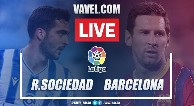 Gols e melhores momentos de Real Sociedad x Barcelona (1-6)