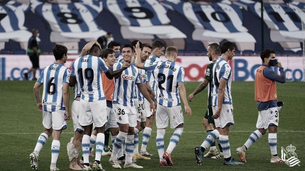 Real Sociedad sofre, mas vira contra Espanyol e quebra jejum em LaLiga