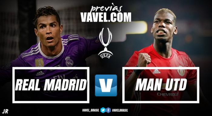 Com CR7, Real Madrid busca bicampeonato da Supercopa da Uefa contra United