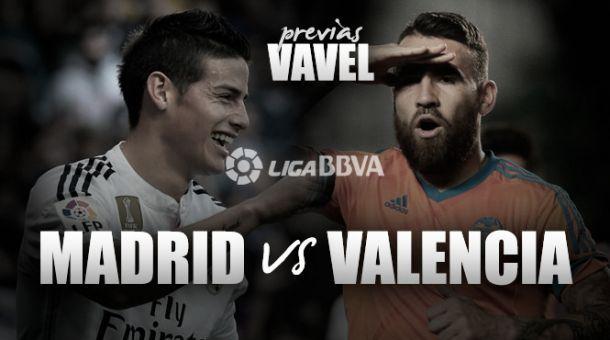 Live Real Madrid - Valencia in risultato partita Liga Spagnola (2-2)