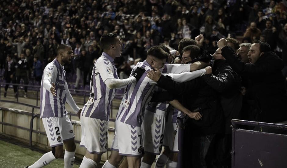 El Real Valladolid celebra su partido 1.500 con una victoria clave