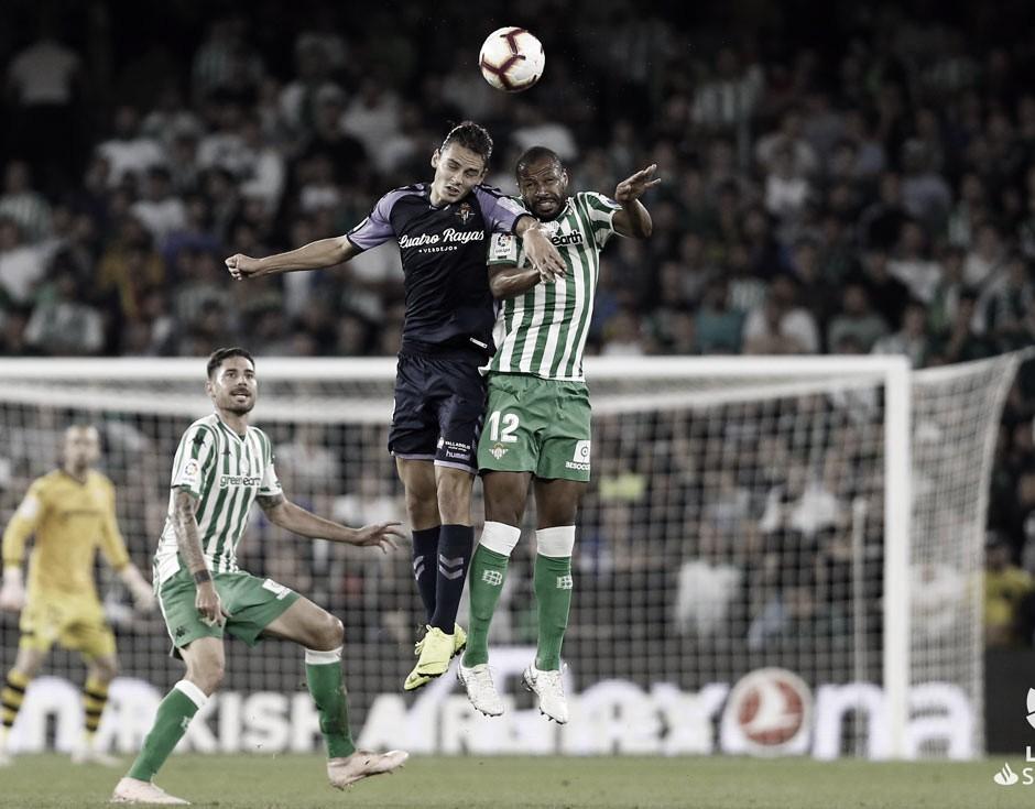 Al Real Valladolid le cuesta puntuar en el Benito Villamarín