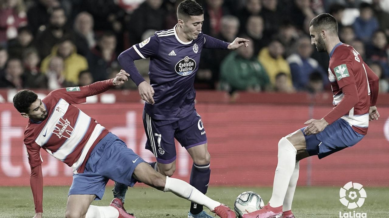 Sergi Guardiola con el balón// FOTO: LaLiga
