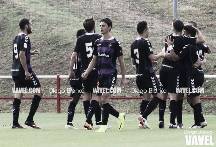 El Real Valladolid Promesas sorprende al Tudelano a domicilio