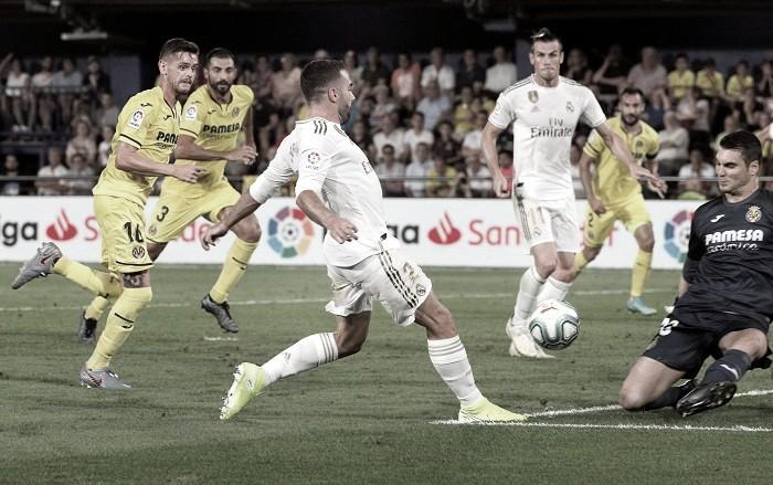 Real Madrid vs Villarreal en vivo y en directo online en La Liga 2019/20