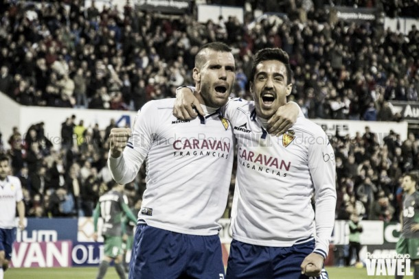 Pedro y Ortuño dan un respiro al Real Zaragoza