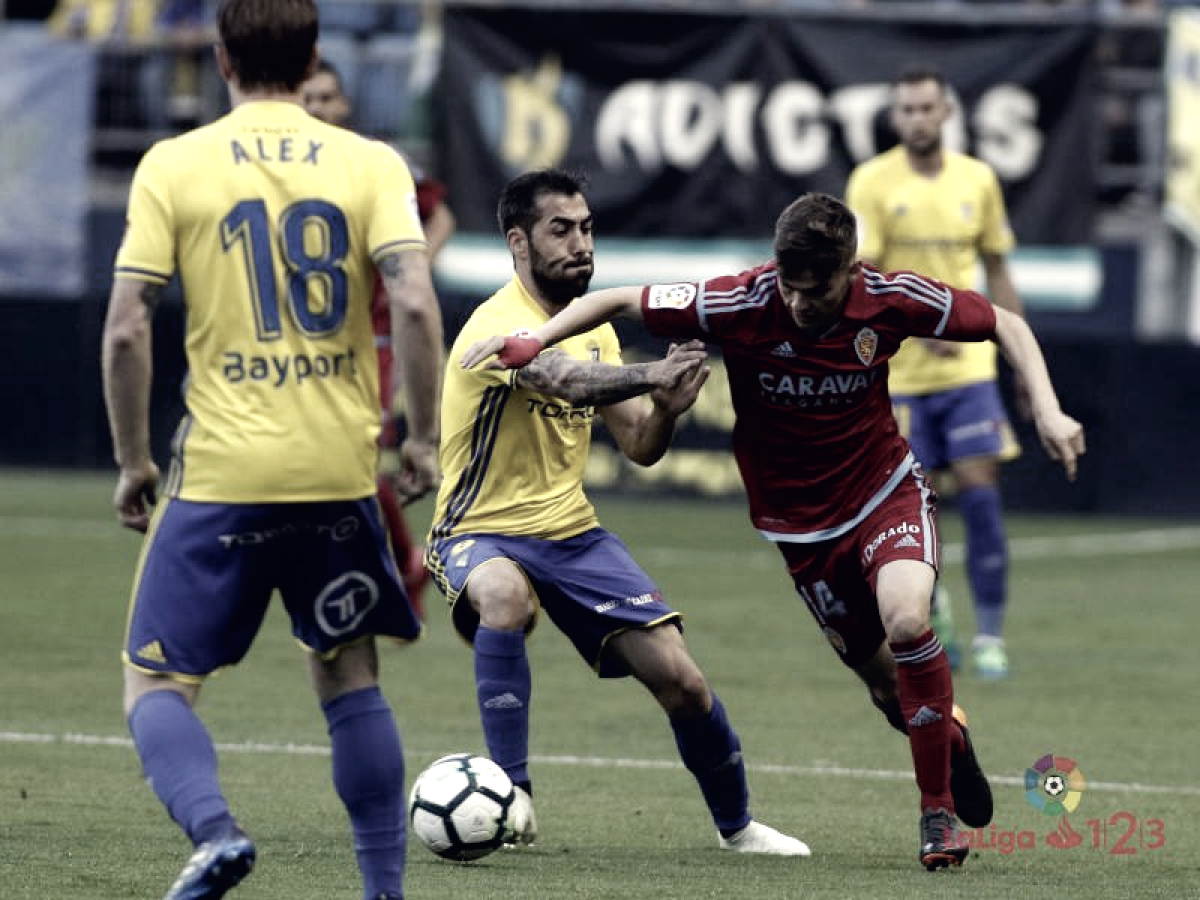 Puntuaciones Cádiz – Real Zaragoza: puntuaciones Real Zaragoza, jornada 39