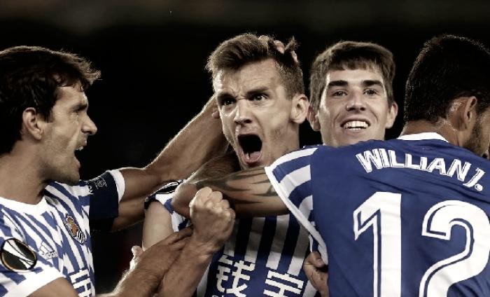 Análisis Real Sociedad 4-0 Rosenborg: vendaval ofensivo