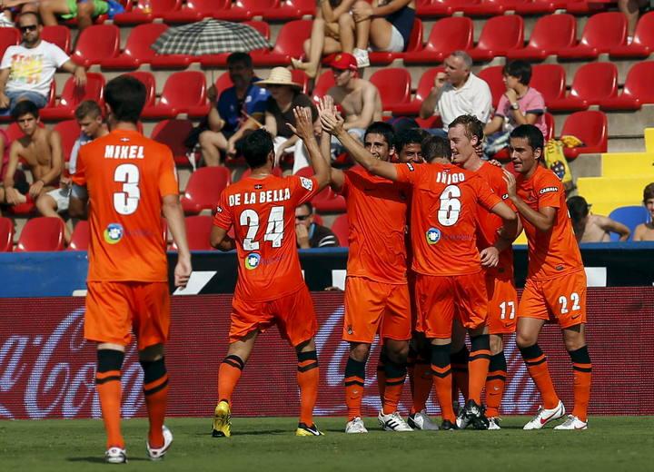 Levante-Real Sociedad: puntuaciones de la Real Sociedad, jornada 5